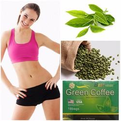 TRÀ GIẢM CÂN, TRÀ GIẢM BÉO GREEN COFFE