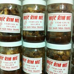 Mực rim me - Đặc sản Nha Trang