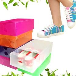Combo 20 hộp đựng giày tiện ích bằng nhựa trong suốt