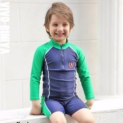 Bộ bơi bé trai xanh lá từ 1 đến 16 tuổi