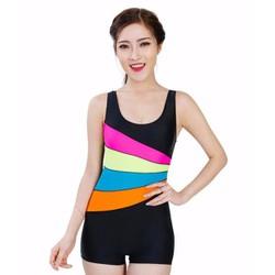 Đồ bơi Monokini Lan Hạnh màu cầu vồng 30023 TZID42451
