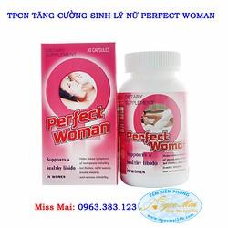 Perfect Woman - Viên uống tăng cường sinh lý cho nữ