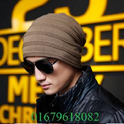 nón mũ chụp đầu, nón len nam thời trang, mạnh mẽ cá tính model mới