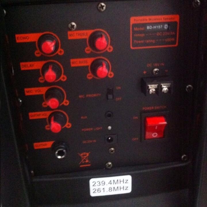 Loa kéo BD-H157DY 5