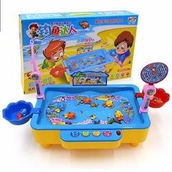 Bộ bể câu cá điện tử cho bé có phát nhạc