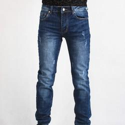 Quần jeans côn mài nhẹ 16J691