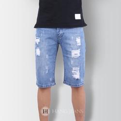 Quần jeans ngố nam mài rách Z6276 - 1