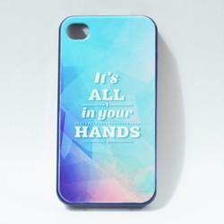Ốp lưng điện thoại iphone 4, 4s hình chữ