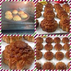 Bánh trung thu homemade