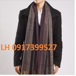 Khăn choàng nam thu đông khăn quàng nam cashmere cao cấp mới L12K16
