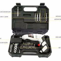 Bộ máy khoan và vặn ốc vít có sạc tích điện