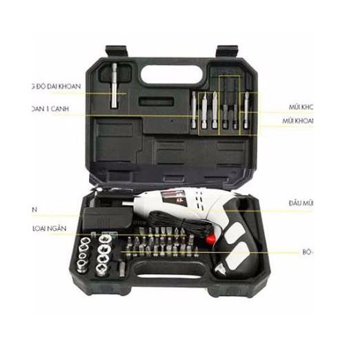 Bộ máy khoan và vặn ốc vít có sạc tích điện - Máy khoan pin, bắt vít - 4019635 , 3668546 , 15_3668546 , 329000 , Bo-may-khoan-va-van-oc-vit-co-sac-tich-dien-May-khoan-pin-bat-vit-15_3668546 , sendo.vn , Bộ máy khoan và vặn ốc vít có sạc tích điện - Máy khoan pin, bắt vít