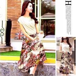 Đầm Dạo Phố Váy Hoa_VD60