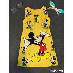 Đầm suông chuột mickey