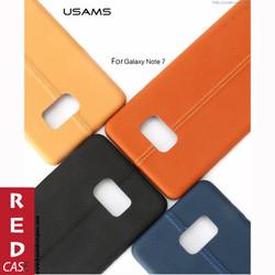 Ốp lưng Samsung Galaxy Note 7 - USAMS PU FIBER CASE