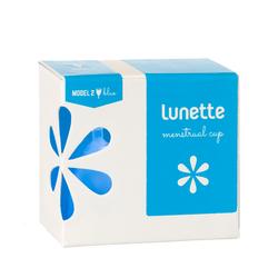 [HÀNG CHÍNH HÃNG] Cốc nguyệt san Lunette - màu xanh, cỡ 2