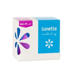 Cốc nguyệt san Lunette - màu tím, cỡ 2