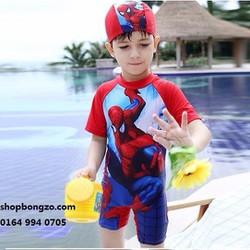 Bộ bơi bé trai cộc người nhện