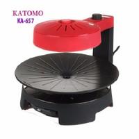 Vỉ chiên nướng điện chân không đèn hồng ngoại Katomo KA-657
