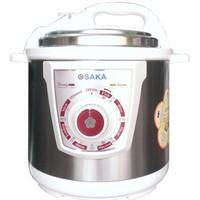 Nồi áp suất điện lòng inox Osaka IPM-06SS - Bạc 6L