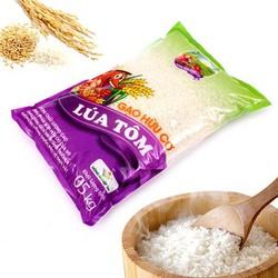 Gạo Hữu Cơ Lúa Tôm