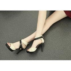 Giày Cao Gót Hàn Quốc - Màu Đen