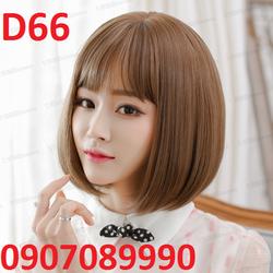 Tóc giả Hàn Quốc có da đầu bao lưới - D66