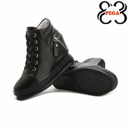 Giày Thể Thao Nữ Đế Xuồng Wedge Sneakers 8,5cm High-Top GM05