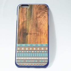 Ốp lưng điện thoại iphone 6 plus màu gỗ