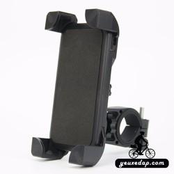 Giá gắn smartphone, mở rộng 4 góc tự do, xoay 360 độ - YXD-4206