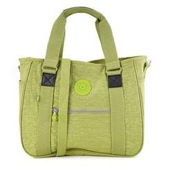 Túi xách hai hộp Kipling khỉ màu xanh lá