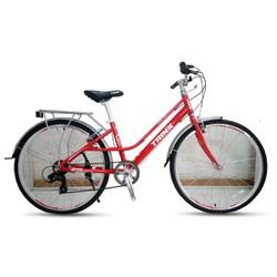 Xe đạp thời trang TRINX CUTE3.0 2016 Đỏ