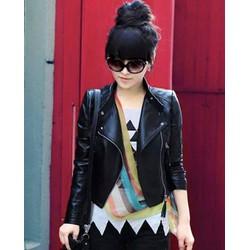 Hàng nhập- Áo khoác da cao cấp thời trang Hàn Quốc