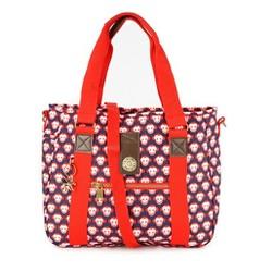 Túi xách Kipling khỉ màu xanh đỏ