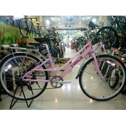 Xe đạp thời trang TRINX CUTE3.0 2016 Hồng