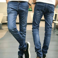 Quần jeans nam phối màu độc đáo , năng động trẻ trung 110