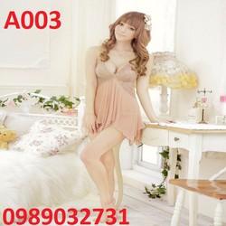 Váy ngủ sexy Hàn Quốc  - A003