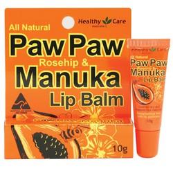 Son dưỡng môi của Healthy Care - Paw Paw Manuka
