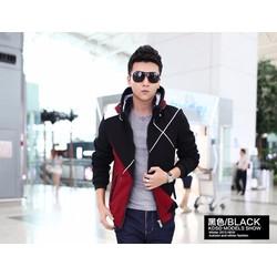 áo khoác nỉ nam phối màu họa tiết Tia X cá tính DMK74