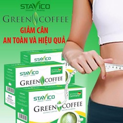 trà giảm béo green coffee
