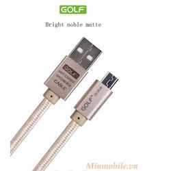 Cáp sạc chính hãng Golf, dài 3m