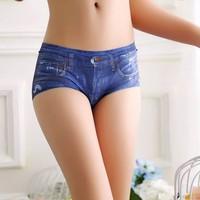 quần lót kiểu jean