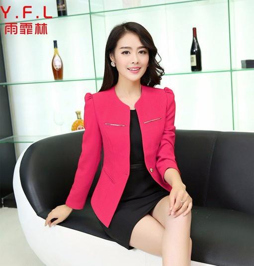 Áo khoác vest phối nẹp kim loại 3