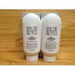 Kem tắm trắng mặt và toàn thân  Secret Key Snow White Milky Pack