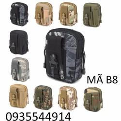 Túi đeo hông thời trang phong cách quân đội B8