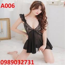 Váy ngủ sexy Hàn Quốc - A006