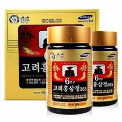 Cao Hồng Sâm 365 Hàn Quốc 240g x 2 Lọ