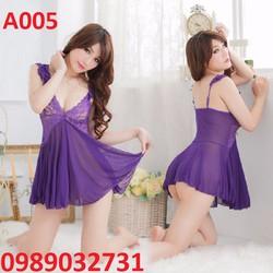 Váy ngủ sexy Hàn Quốc - A005