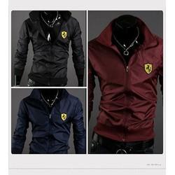 áo khoác dù nam logo Ferrari cực sành điệu DMK48