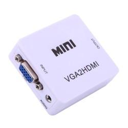 Bộ chuyển VGA to HDMI nini